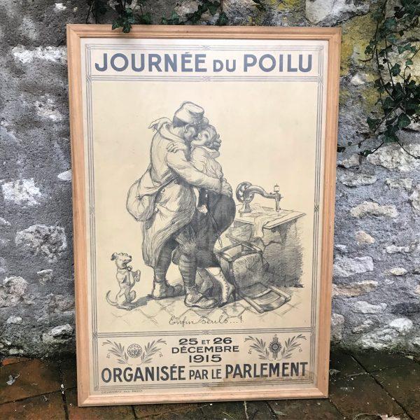 Affiche ancienne de 1915